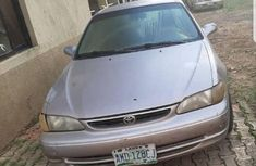 Clean Nigerian used Toyota Corolla 2000 Gray