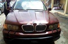 Sell red 2000 BMW X5 suv / crossover automatic