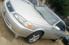 Neat Nigerian used Toyota Camry 2002 Gray