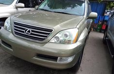 Sell well kept gold 2008 Lexus GX suv / crossover automatic in Lagos