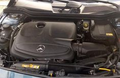 Neat Foreign Used Mercedes-Benz CLA-Class 2014 Blue