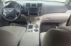 Foreign Used Toyota Highlander 2013 Gray