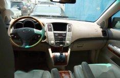 Clean Tokunbo Used Lexus RX 2009 350 4x4 Black