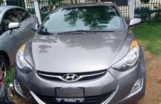 Clean Tokunbo Hyundai Elantra 2012 GLS Automatic Gray