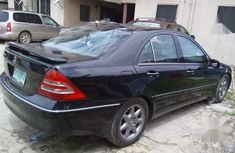 Clean Nigerian Used Mercedes-Benz C240 2003 Black