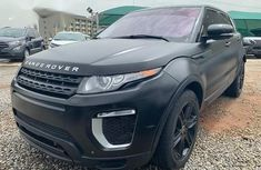 Clean Foreign Used Land Rover Range Rover Evoque 2013 Black Colour