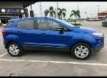 Sell well kept blue 2014 Ford EcoSport automatic
