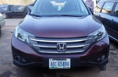 Neat Tokunbo Used Honda CR-V 2014 Red Colour