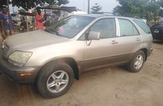 Used gold 2000 Lexus RX automatic for sale in Lagos