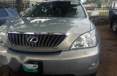 Clean Tokunbo Used Lexus RX 350 2010 Silver