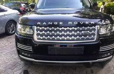 Neat Tokunbo Used Land Rover Range Rover Vogue 2018 Black