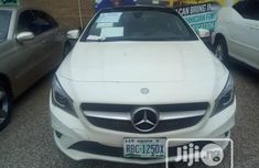 Neat Nigerian used Mercedes-Benz CLA-Class 2014 White