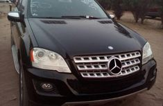 Clean Used Mercedes-Benz M Class 2011 Black