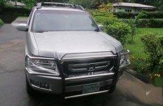 Very Clean Tokunbo Used Honda Ridgeline RTL 2008 Silver