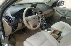 Clean Tokunbo Used Volvo XC90 3.2 2007 Model Green Colour