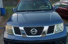 Neat Nigerian used Nissan Pathfinder 2006 SE 4x4 Blue