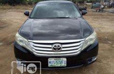 Neat clean Nigerian used Toyota Avalon 2013  Model Black