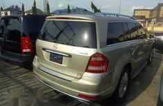 Clean Tokunbo Used Mercedes-Benz GL Class 2012 Gold