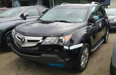 Used black 2008 Honda Acura MDX suv / crossover for sale at price ₦3,300,000