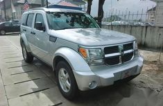Neat Foreign used Dodge Nitro 2008 Silver