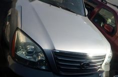 Clean Tokunbo Used Lexus GX 2003 Silver Colour