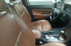 Neat Nigerian used Peugeot 607 2004 Black