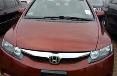 Neat Foreign Used Honda Civic 2008 Red