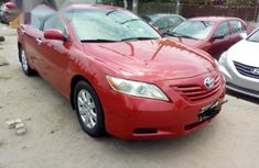 Neat Nigerian used  Toyota Camry 2007 Red