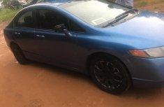 Nigerian Used Blue 2008 Honda Civic