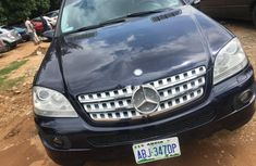 Used blue 2007 Mercedes-Benz ML 500 for sale at price ₦3,000,000 in Abuja