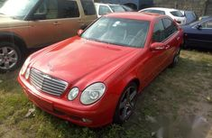 Super Clean Nigerian used  Mercedes-Benz E320 2004 Red