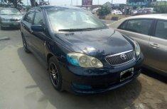 Neat Nigerian used Toyota Corolla 2004 Blue