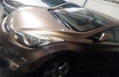 Clean Used Hyundai Elantra 2013 Gold Colour