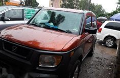 Clean Nigerian Used Honda Element 2004 Orange