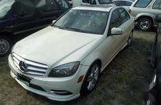 Neat Nigerian used Mercedes-Benz C300 2011 White