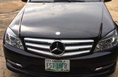 Neat Nigerian Used Mercedes-Benz C300 2012 Black Colour