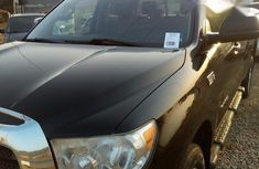Neat Foreign used Toyota Tundra Double Cab 2008 Black