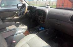 Neat Nigerian used Toyota Sequoia 2002 Silver