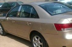 Clean Nigerian Used Hyundai Sonata 2008 Gold Colour
