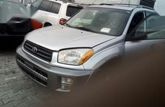 Neat Foreign used Toyota RAV4 2003 Automatic Silver