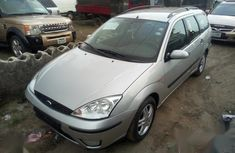 Neat Foreign used Ford Focus 2003 Silver