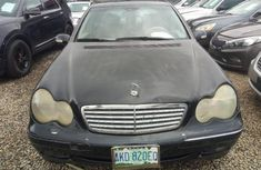 Black 2003 Mercedes-Benz C240 car sedan automatic at attractive price