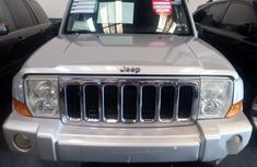 Clean Nigerian Used Jeep Commander 2008 Silver Colour