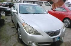 Neat Foreign used Toyota Solara 2005 Silver