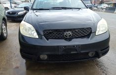 Clean Foreign Used Toyota Matrix 2003 Black