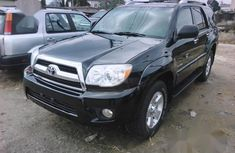 Super Clean Foreign used Toyota 4-Runner 2007 Black