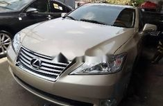 Neat Foreign used Lexus ES 2010 Petrol Automatic Gold