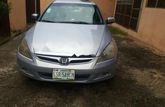 Used grey/silver 2006 Honda Accord automatic for sale at price ₦1,100,000