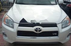 White 2012 Toyota RAV4 suv / crossover automatic for sale in Lagos