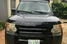 Clean Nigerian Used  Land Rover LR3  2007 Black